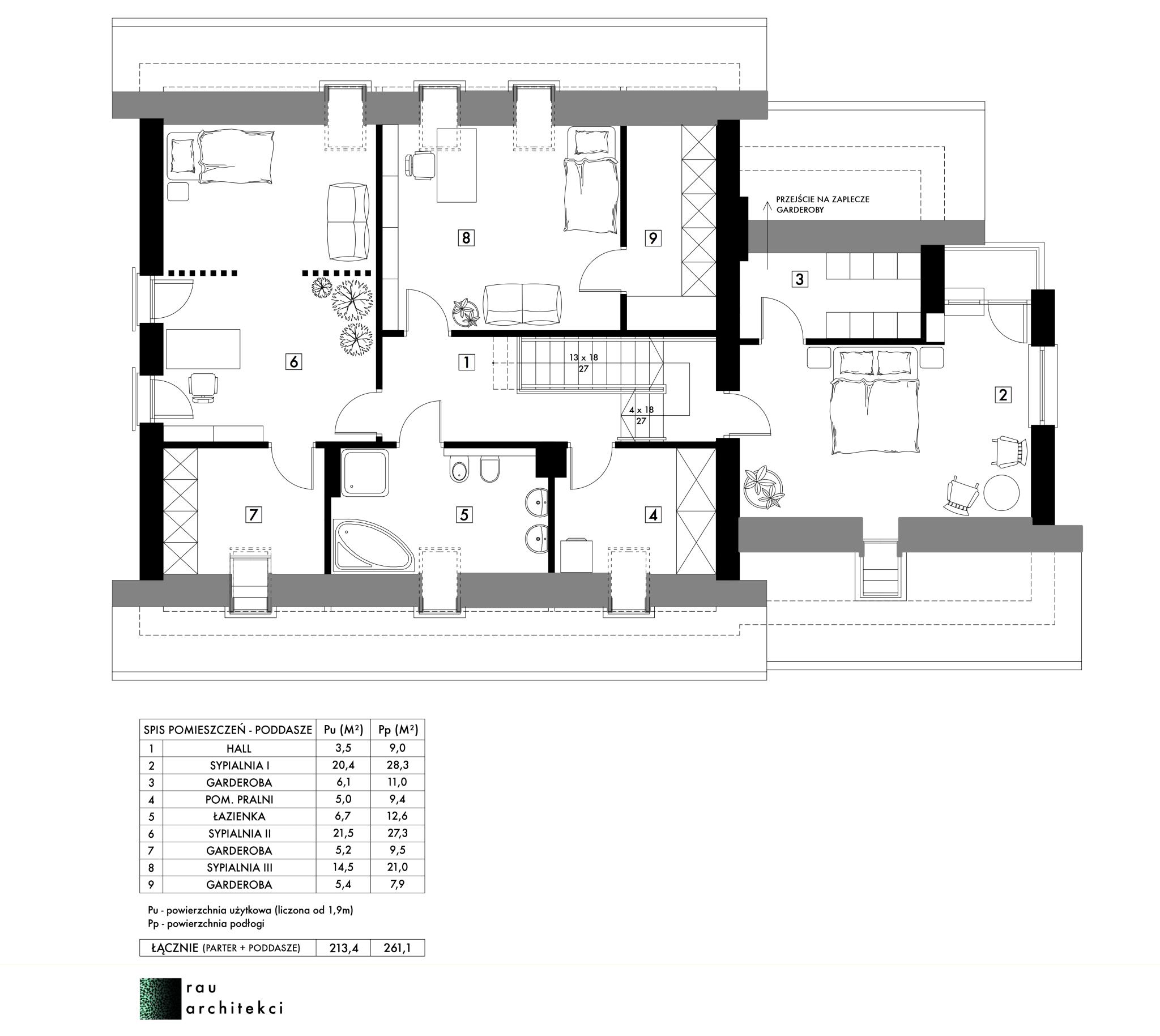 dom jednorodzinny poddasze