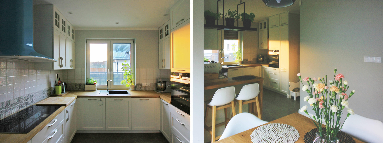 Projektowanie wnętrz - projekt kuchni i jadalni