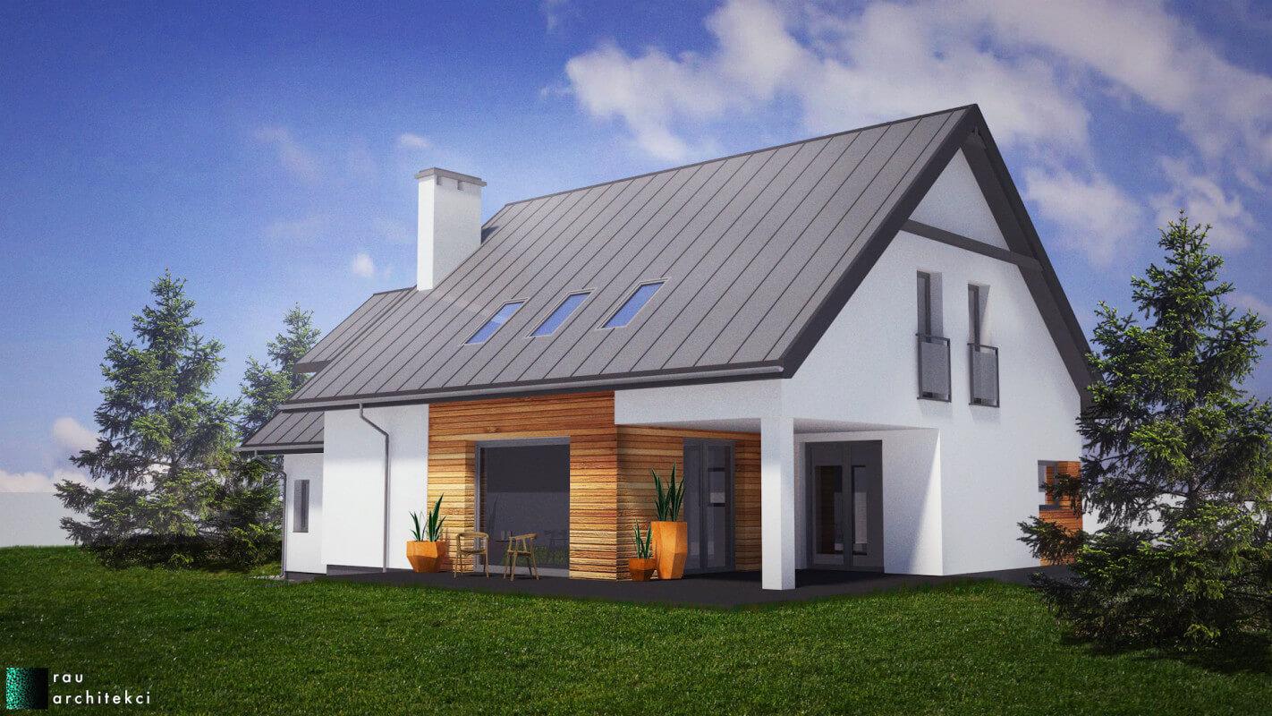 Dom Jednorodzinny Rau Architekci Łódź 4