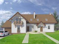 projekt-domu-dla-dwoch-rodzin