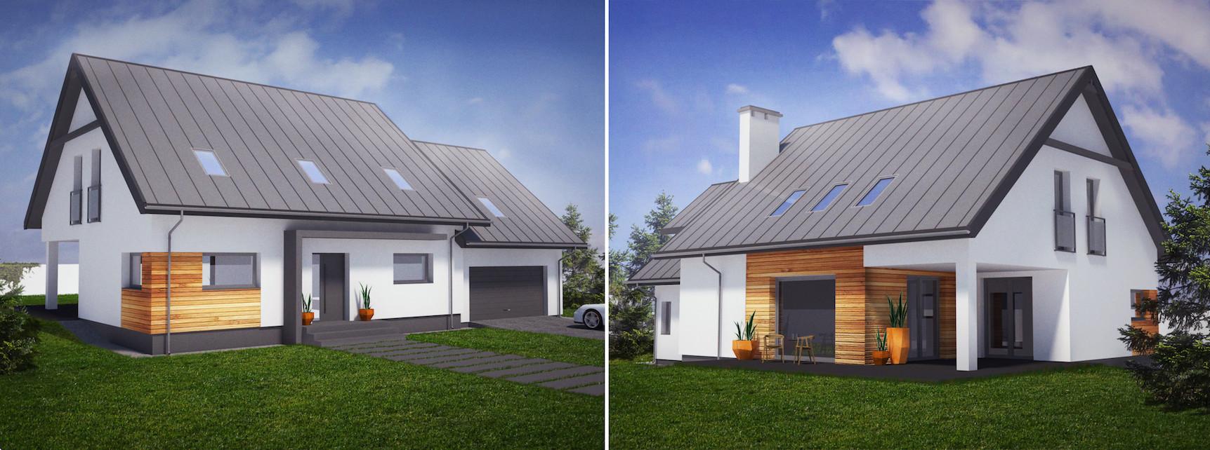 projekty domów architekt łódź 2
