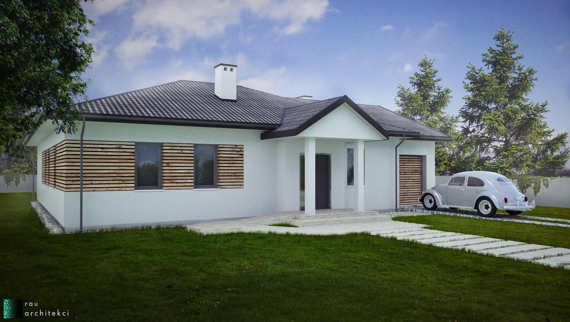 Dom Jednorodzinny Rau Architekci Łódź